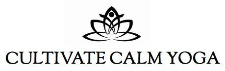 Cultivate Calm Yoga Retina Logo