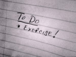 To Do List - Excercise