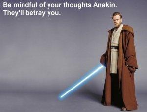 Anakin - thoughts betray