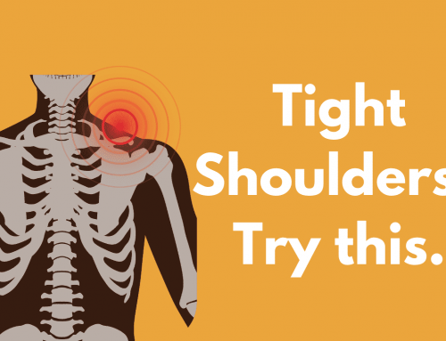 Tight shoulders? Try this